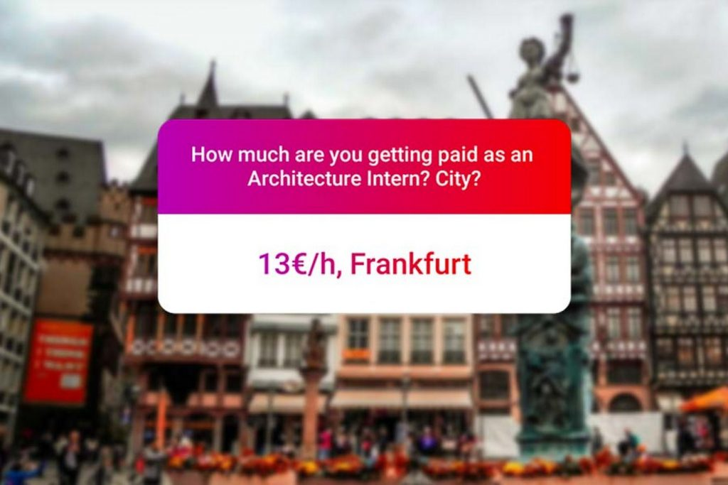 We asked how much Architecture interns get paid in India.. and the results are SAD and HILARIOUS at the same time - Frankfurt