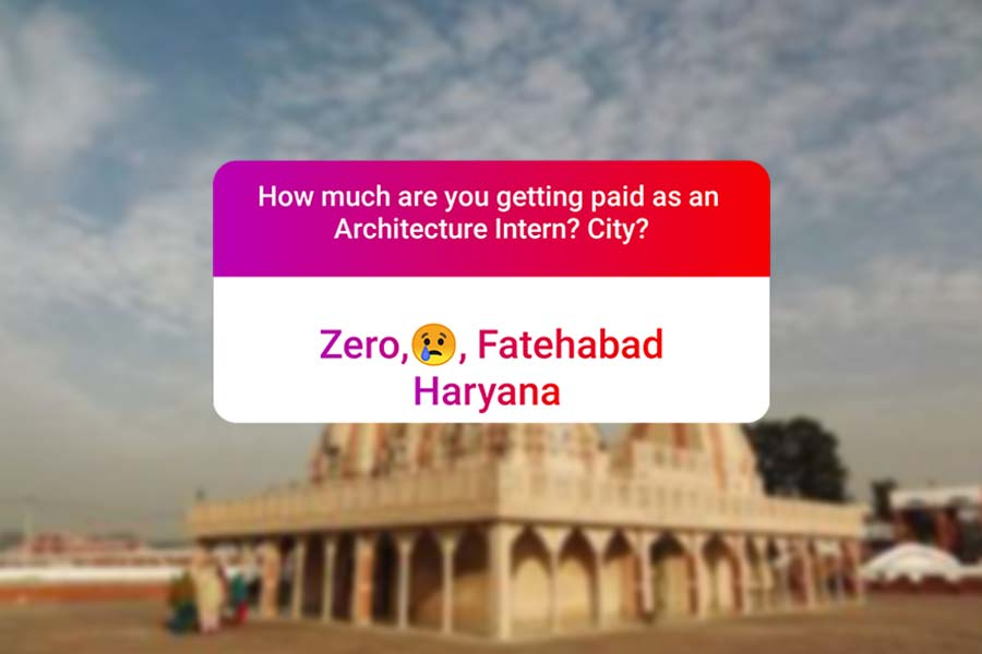 We asked how much Architecture interns get paid in India.. and the results are SAD and HILARIOUS at the same time - Harayana