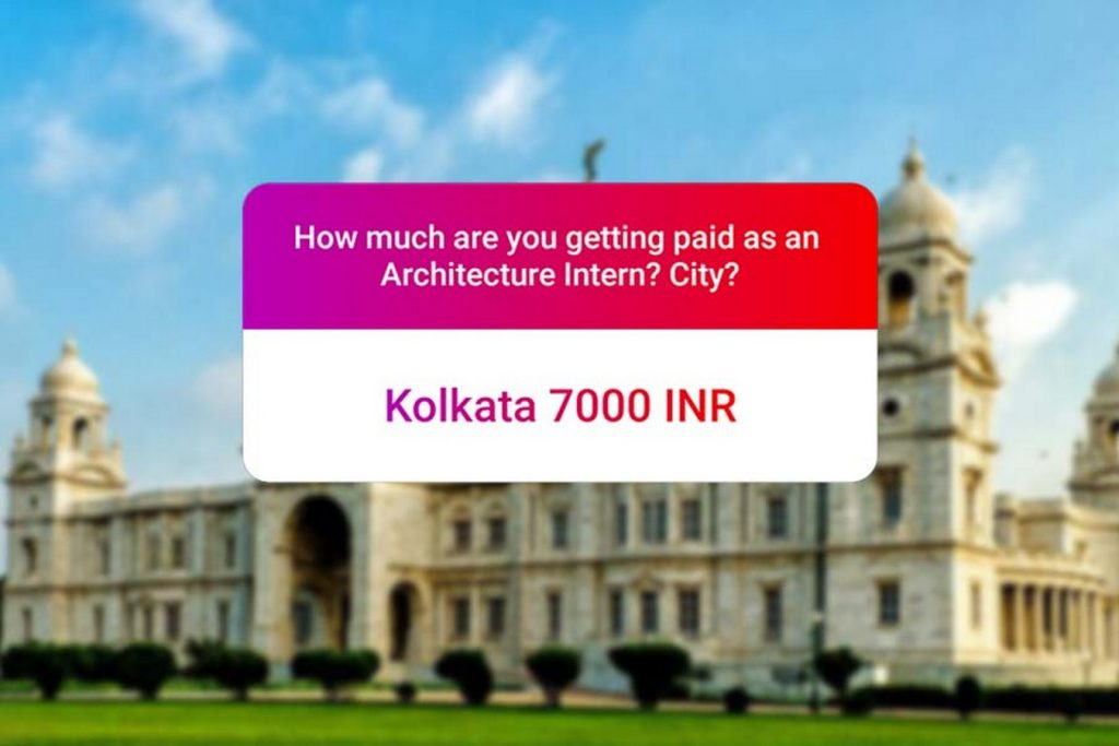 We asked how much Architecture interns get paid in India.. and the results are SAD and HILARIOUS at the same time - Kolkata