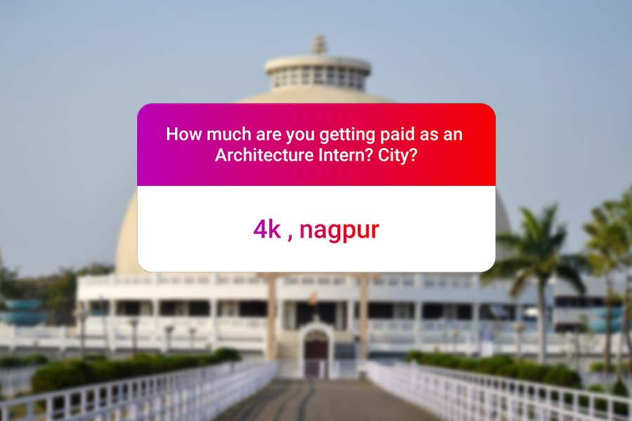 We asked how much Architecture interns get paid in India.. and the results are SAD and HILARIOUS at the same time - nagpur