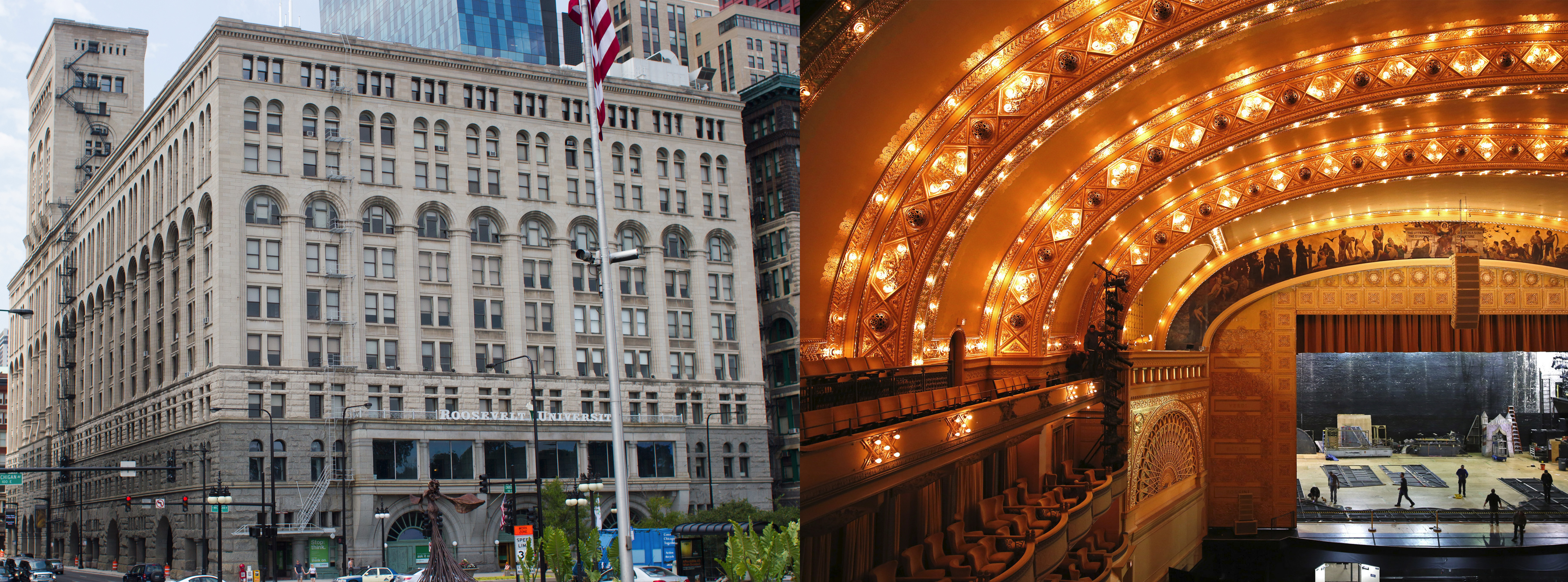 "15 Projects by ""Father of Skyscrapers"" Louis Sullivan - Auditorium Building"