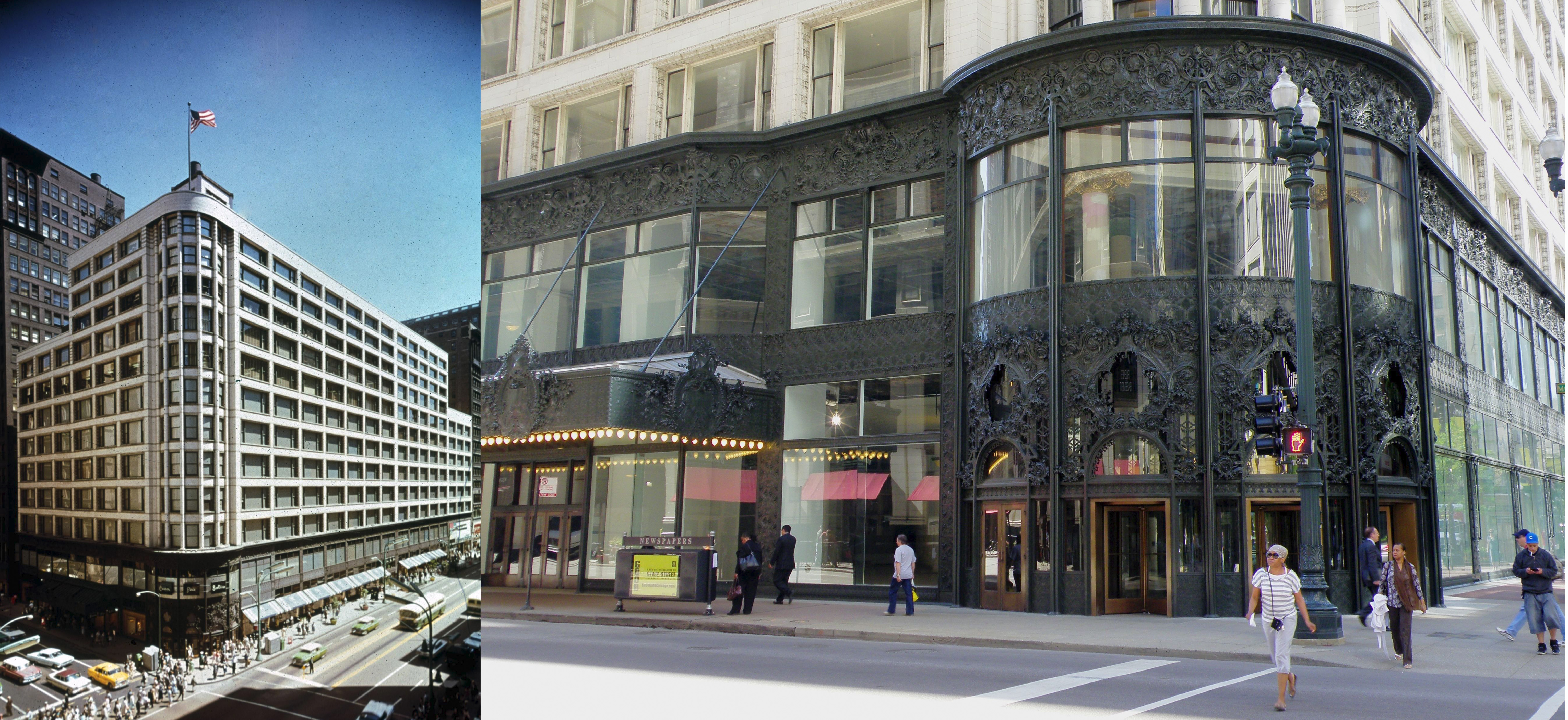 "15 Projects by ""Father of Skyscrapers"" Louis Sullivan - Carson, Pirie, Scott and Company Building"