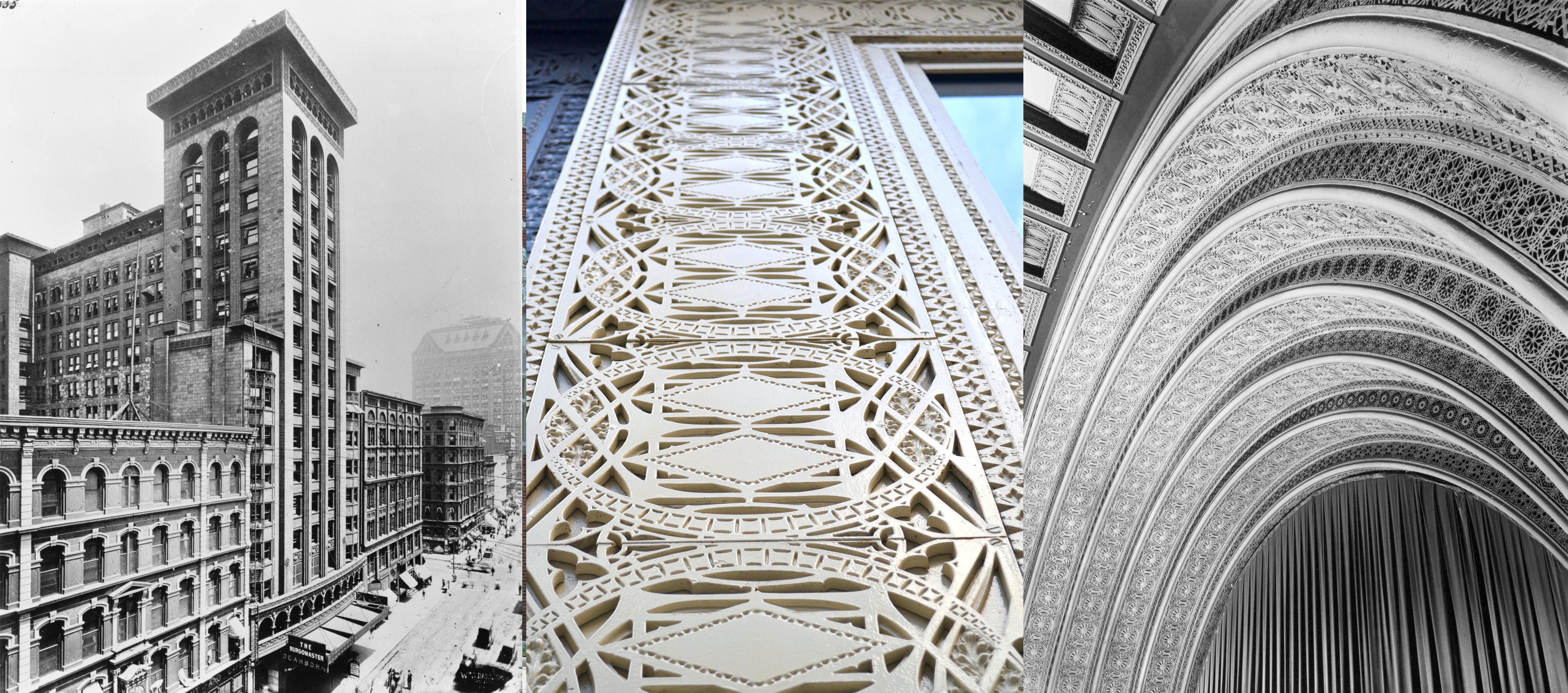 "15 Projects by ""Father of Skyscrapers"" Louis Sullivan - Garrick Theatre (Schiller Theatre Building)"