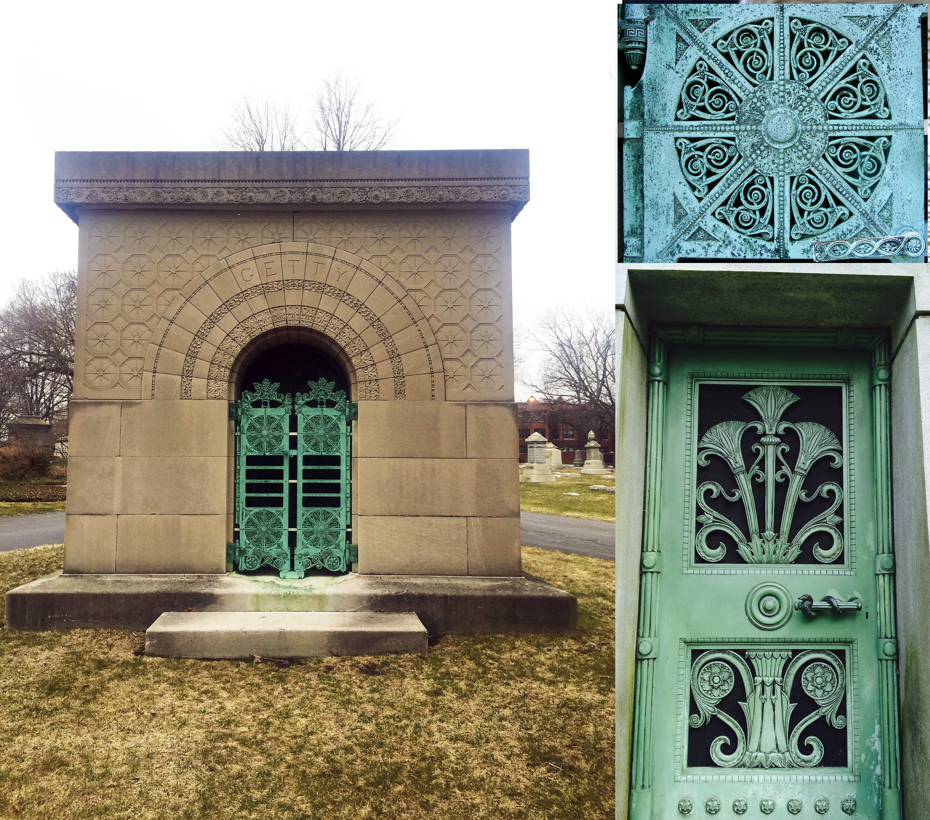 "15 Projects by ""Father of Skyscrapers"" Louis Sullivan - Carrie Eliza Getty Tomb"