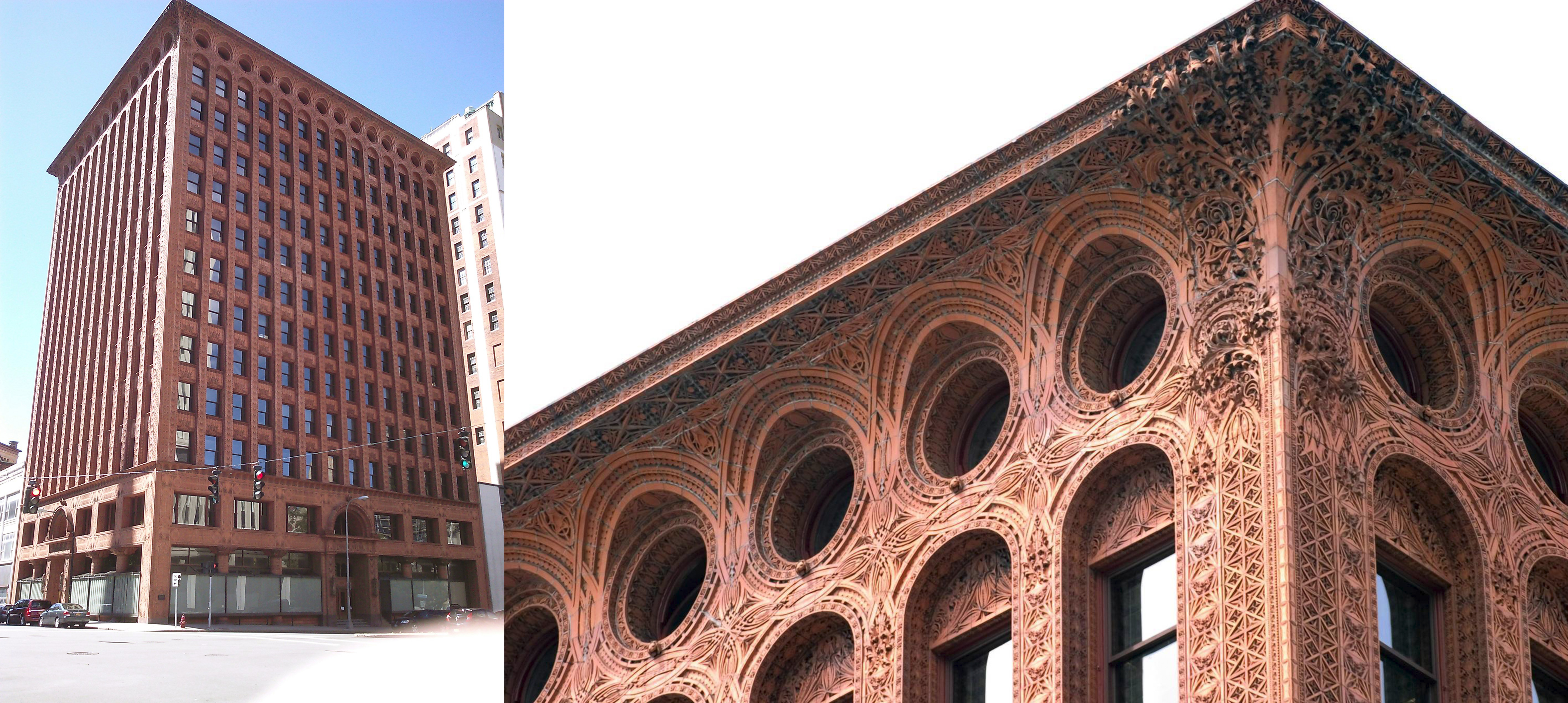 "15 Projects by ""Father of Skyscrapers"" Louis Sullivan - Prudential (Guaranty) Building"