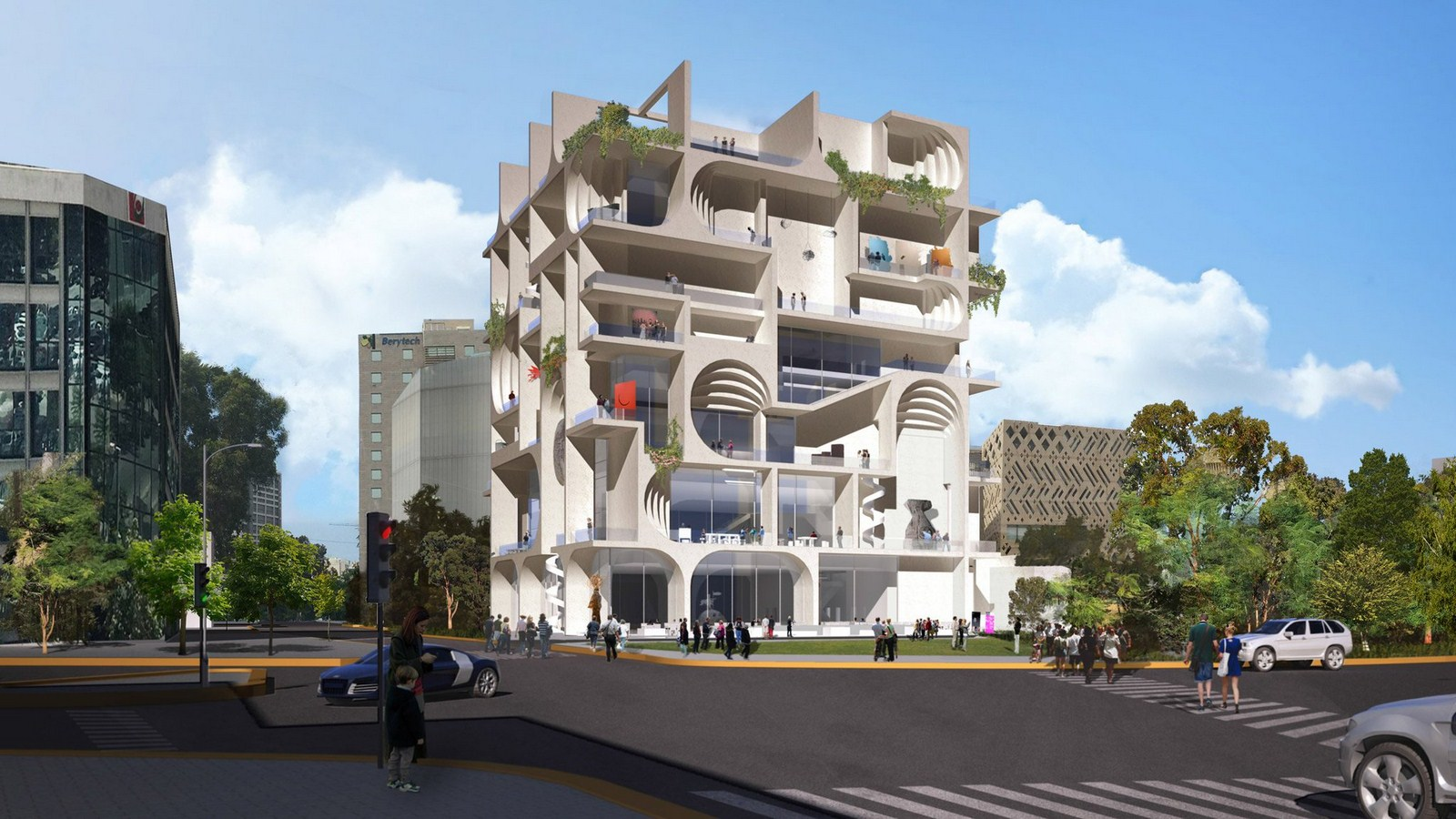 The proposal for the Beirut Museum of Art