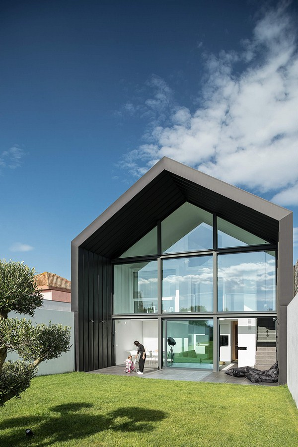 Arch House By FRARI - architecture network - Sheet2