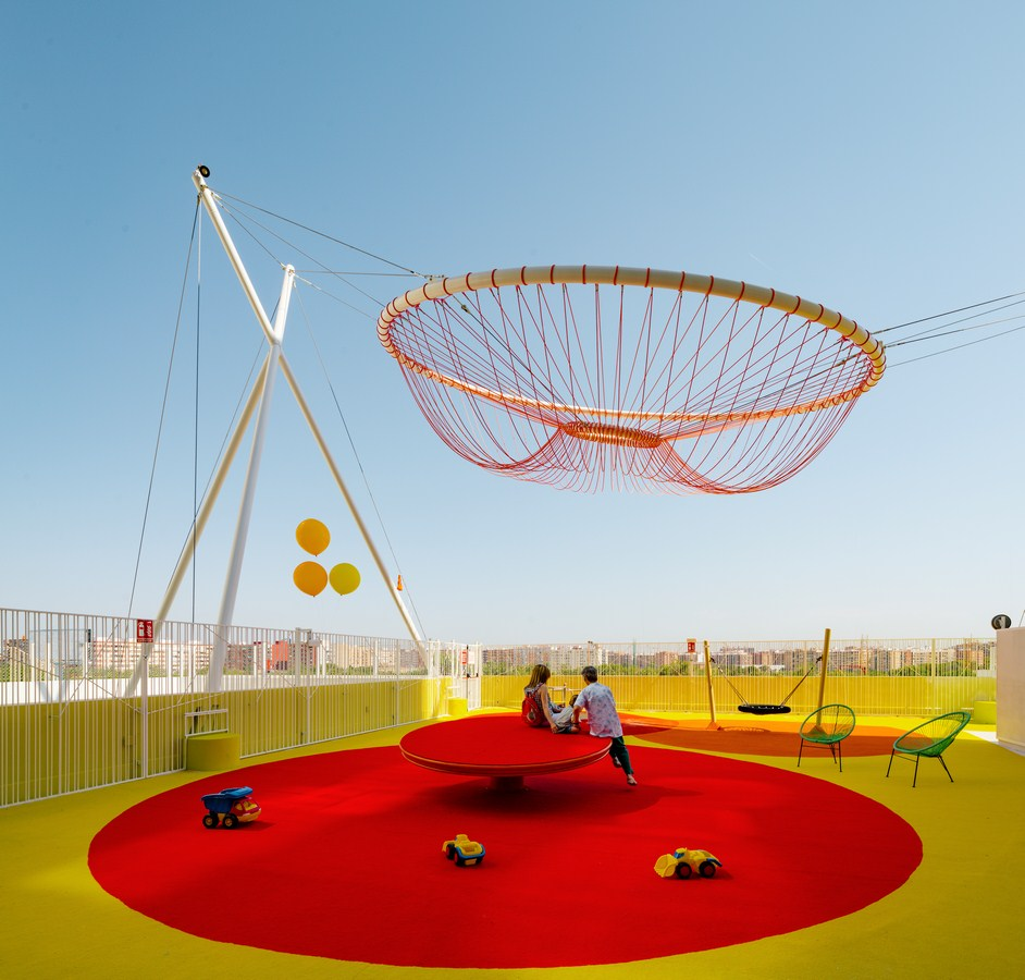 Roof Playground in Valencia By Rica Studio - Sheet1