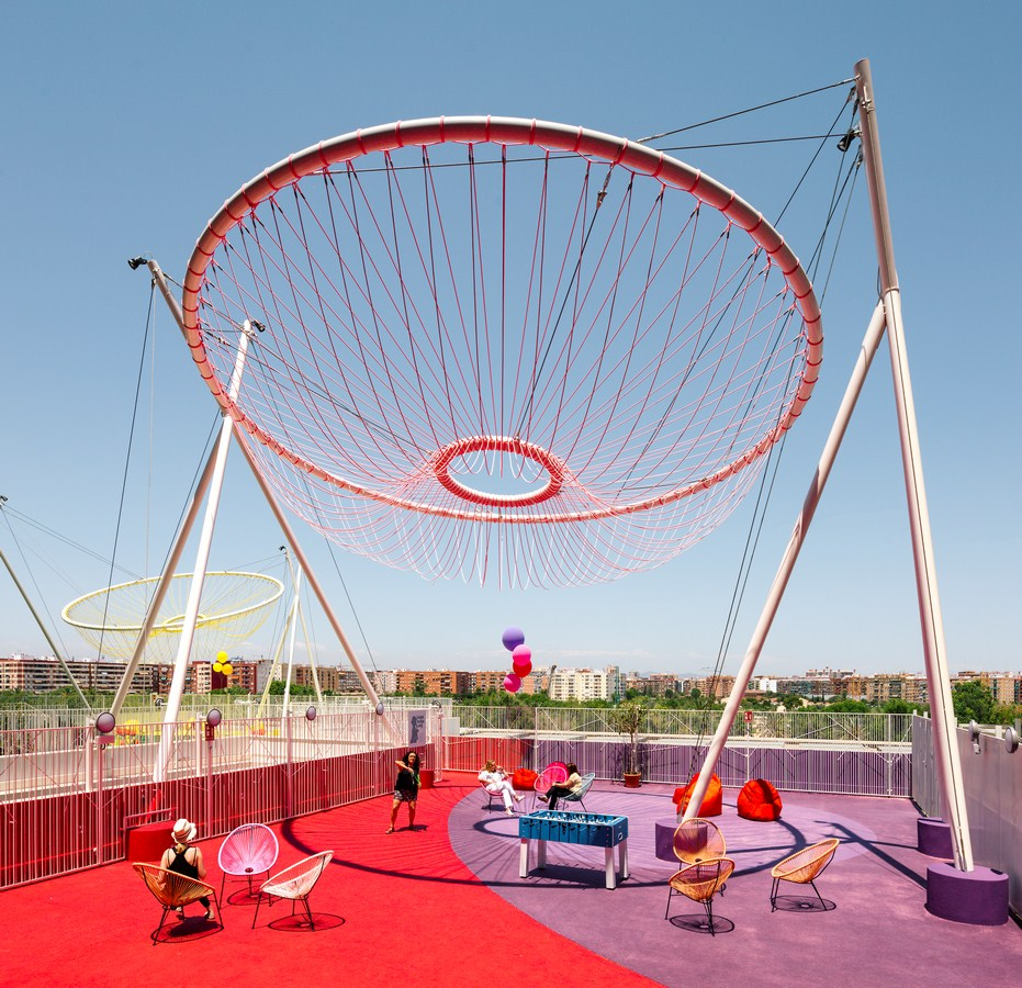 Roof Playground in Valencia By Rica Studio - Sheet3