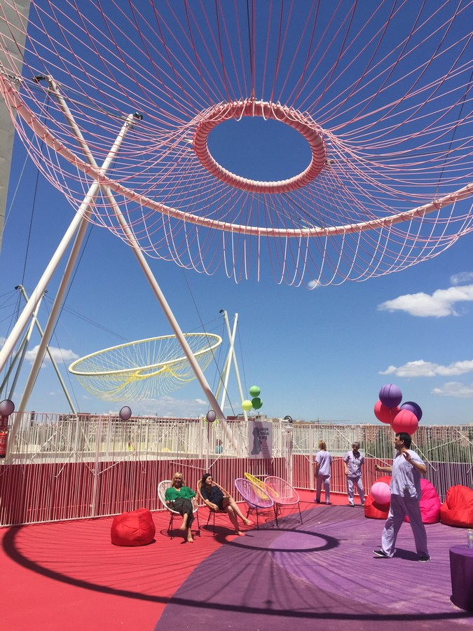 Roof Playground in Valencia By Rica Studio - Sheet9