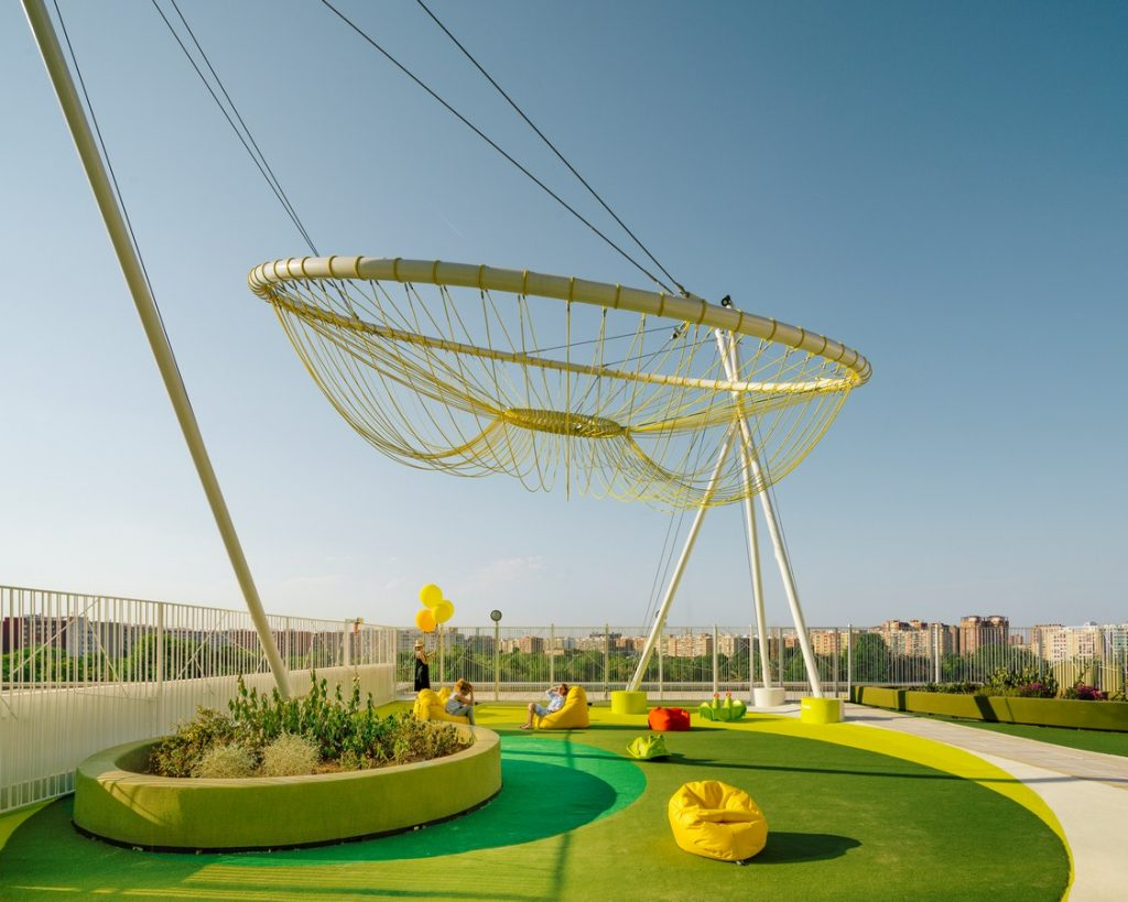 Roof Playground in Valencia By Rica Studio - Sheet5