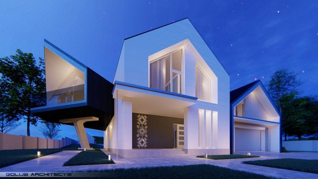 Strut House By Golub Architects - Sheet3