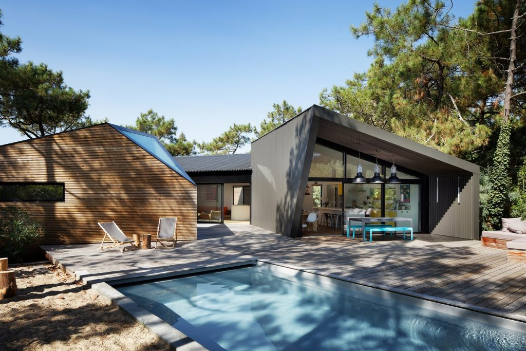 Holiday house with swimming pool in Cap Ferret (France) By Atelier du Pont - Sheet2
