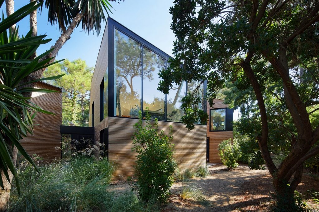 Holiday house with swimming pool in Cap Ferret (France) By Atelier du Pont - Sheet3