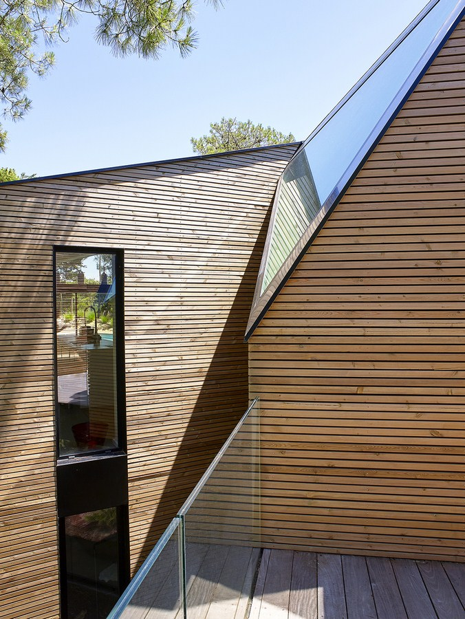 Holiday house with swimming pool in Cap Ferret (France) By Atelier du Pont - Sheet5