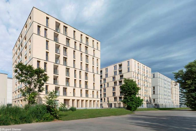 Residential Complex Vorgartenstrasse 98-106 by BEHF Architects