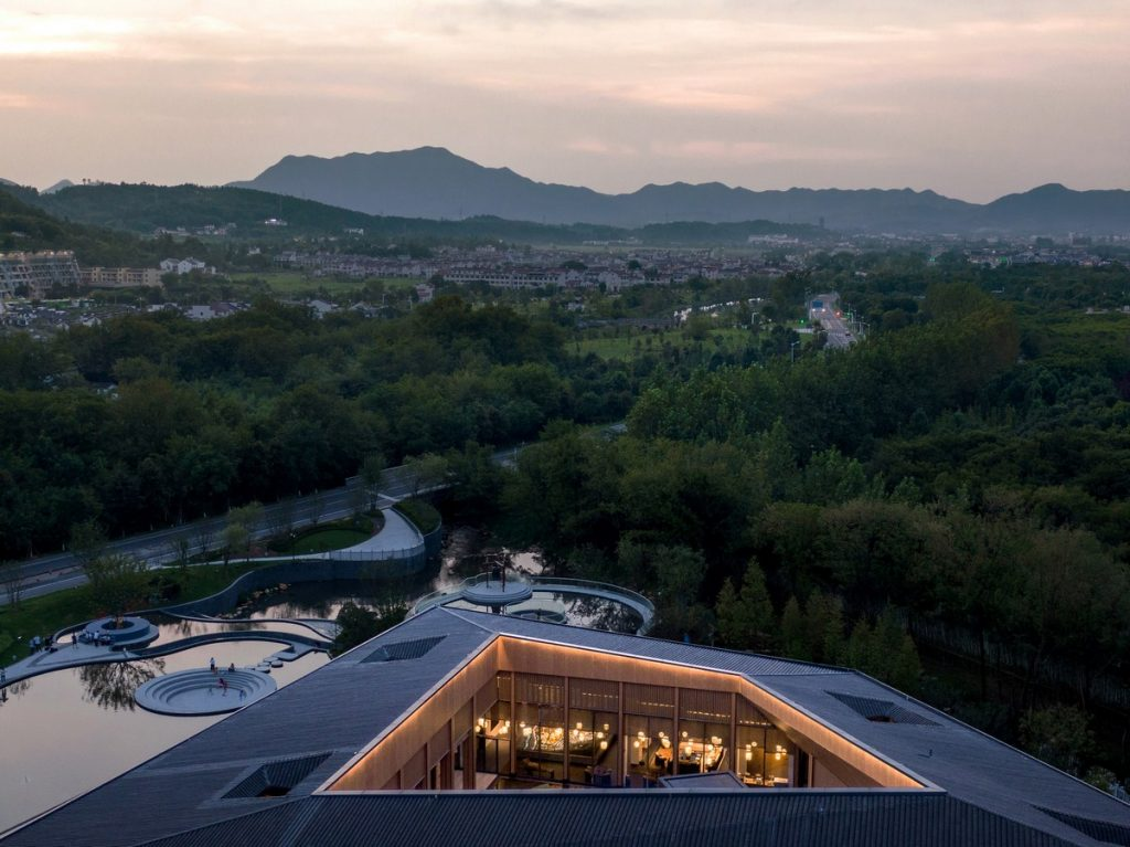 MOMA Lotus Resort, Jiuhua Mountain By Lacime Architects - Sheet2