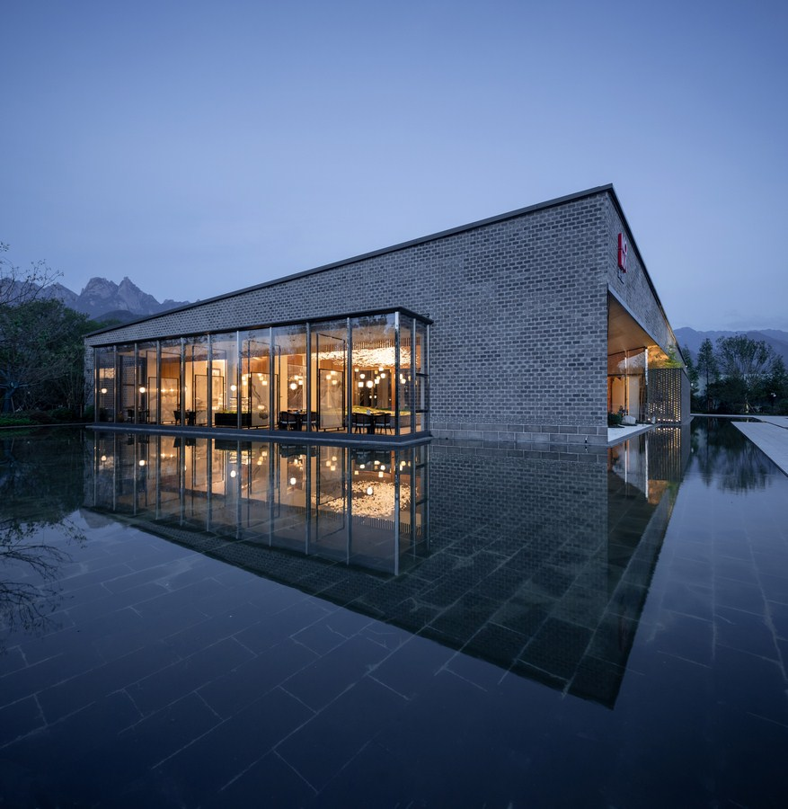 MOMA Lotus Resort, Jiuhua Mountain By Lacime Architects - Sheet7