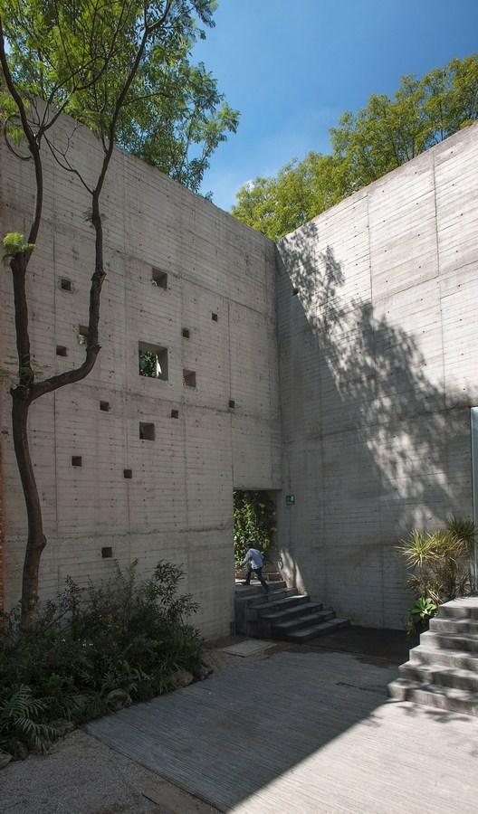 Elena Garro Cultural Centre By Fernanda Canales - Sheet2