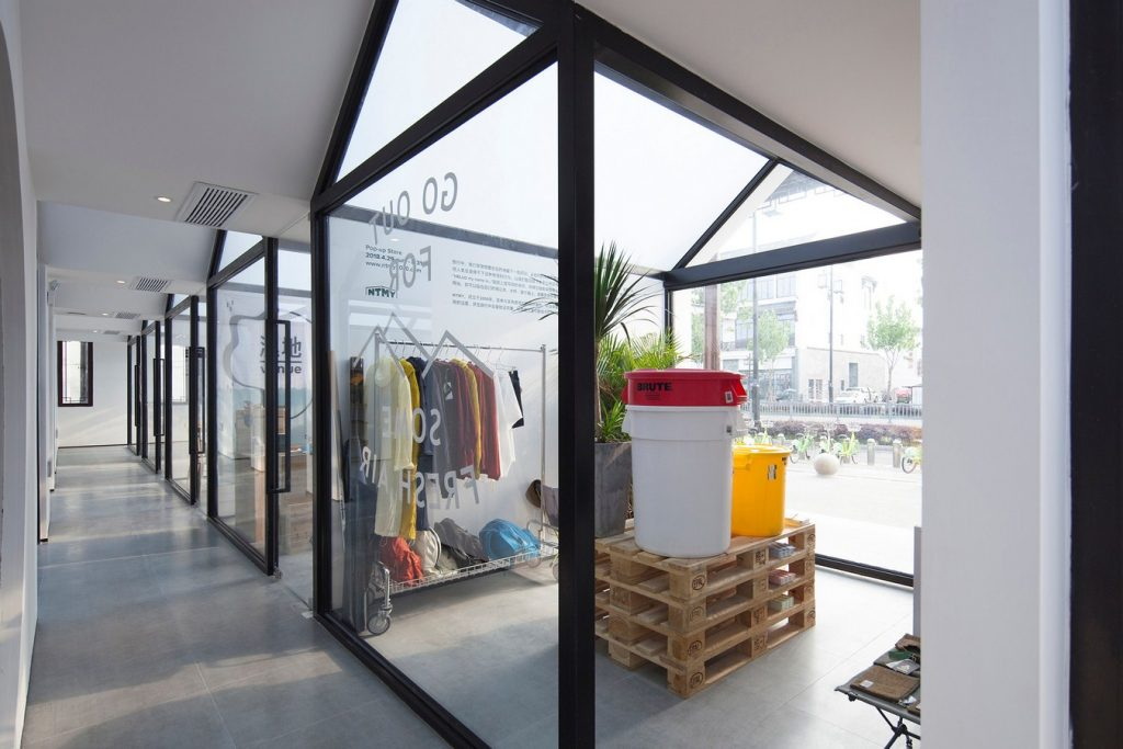 Front Shop & Rear Dorm—Together · Venue Fawn Hostel Suzhou By Cao Pu - Sheet8