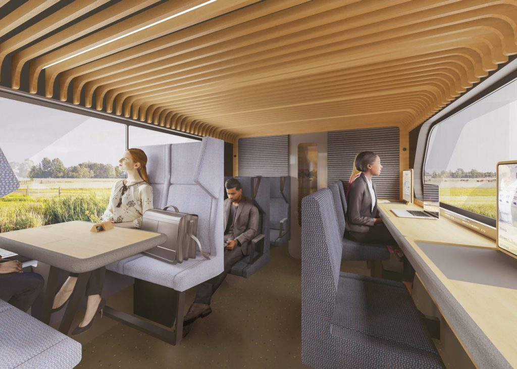 NS Vision Interior Train of the Future By Mecanoo - Sheet9