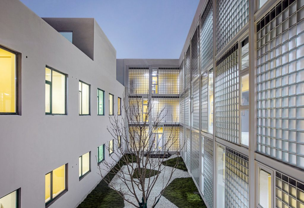 Tree Courtyard Youth Community By MAT - Sheet10