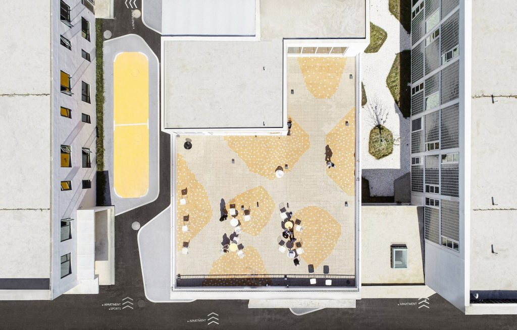 Tree Courtyard Youth Community By MAT - Sheet8