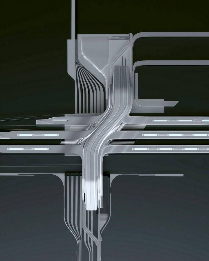 Rail Baltic Ulemiste Terminal By Zaha Hadid Architects & Esplan - Sheet3