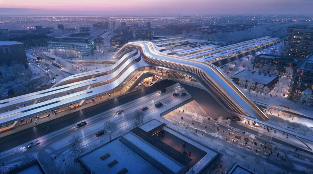 Rail Baltic Ulemiste Terminal By Zaha Hadid Architects & Esplan - Sheet6