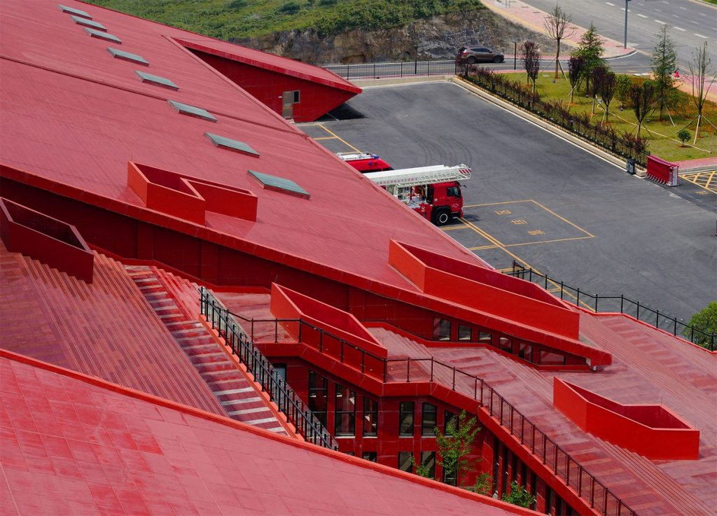 Guizhou Fire Station By West-line Studio - Sheet2