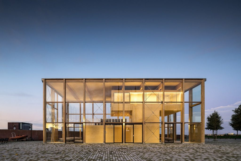 Harbour Building for a Sailing Club By Margulis Moormann Architects - Sheet8