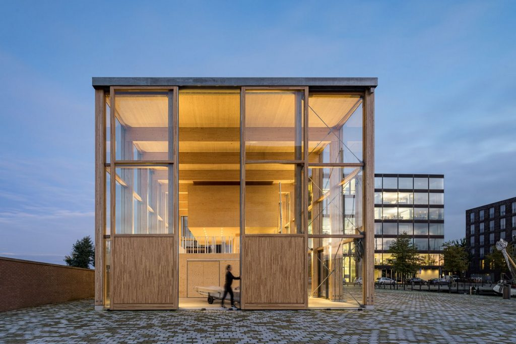 Harbour Building for a Sailing Club By Margulis Moormann Architects - Sheet9