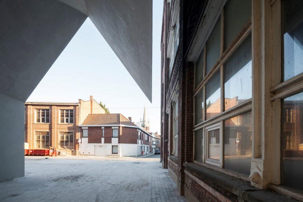 Architecture Faculty in Tournai By Aires Mateus - sheet5