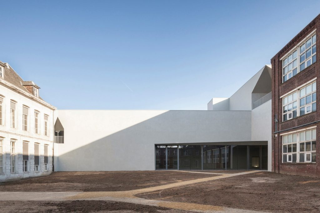 Architecture Faculty in Tournai By Aires Mateus - sheet6