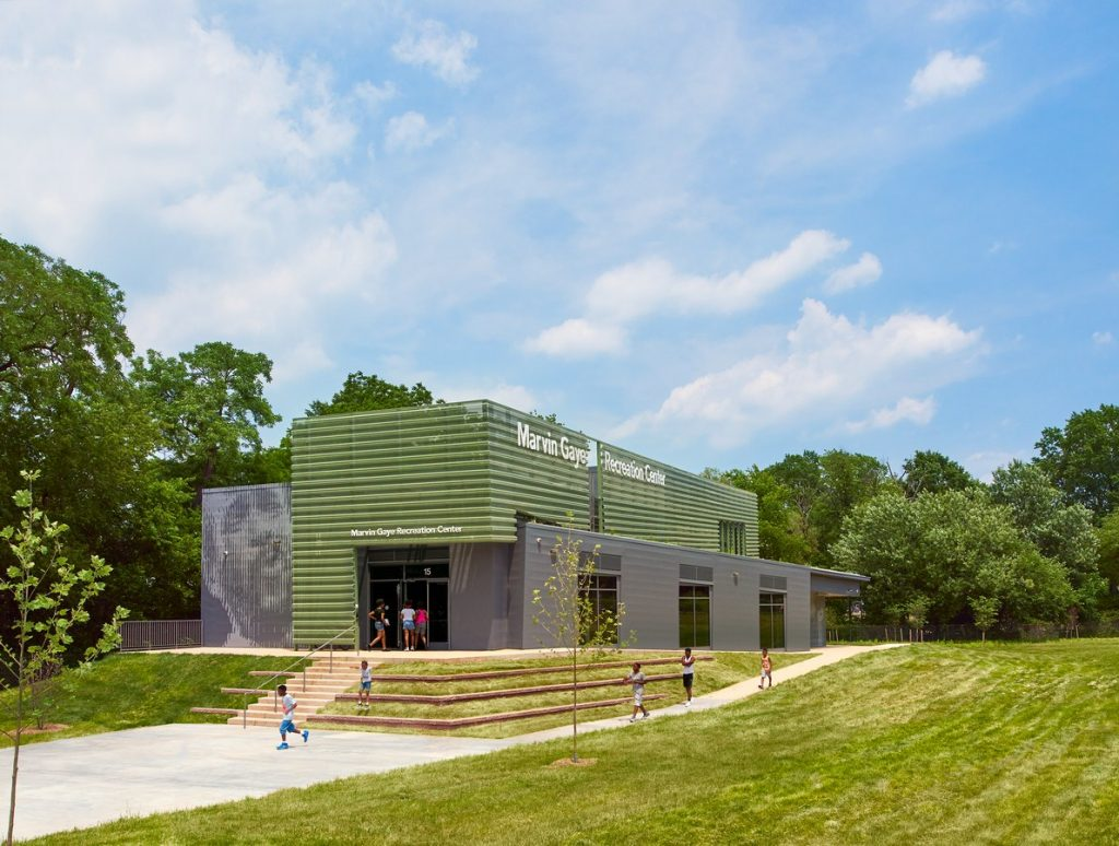 Marvin Gaye Recreation Center By ISTUDIO Architects - Sheet3