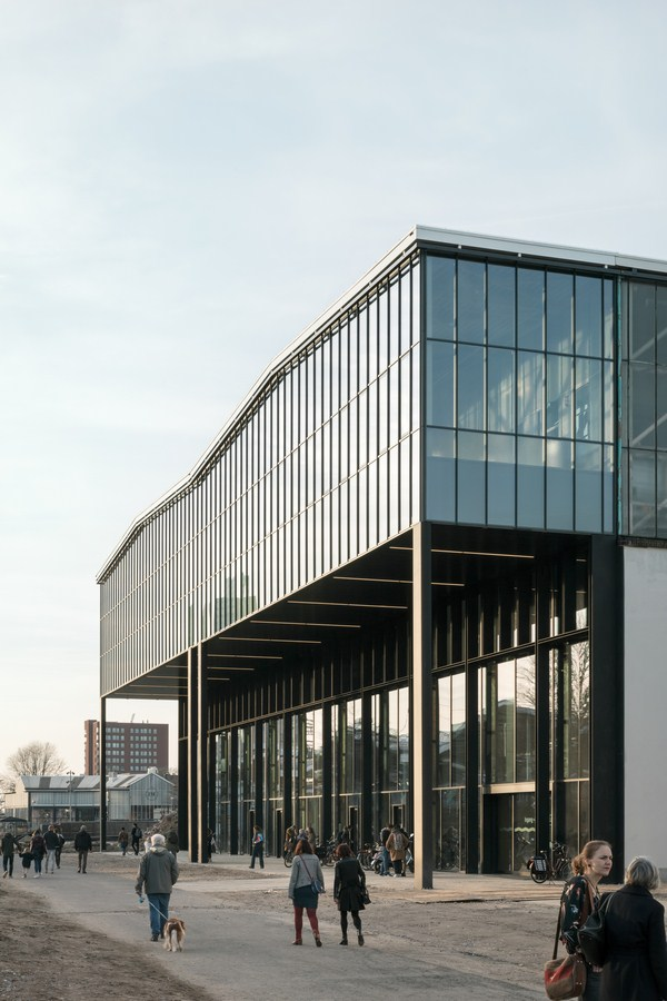 LocHal Library Architecture by Civic By Civic Architects - Sheet1