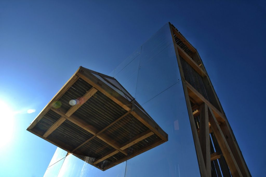 Mirrored Sight Shelter By One Take Architects - Sheet5