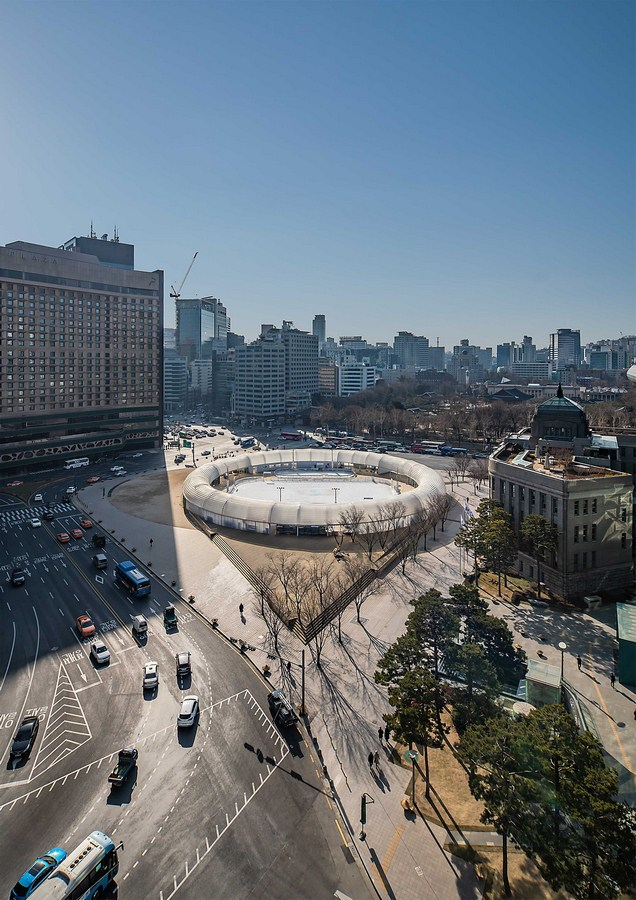 Seoul Square Ice Rink By CoRe Architects - Sheet19