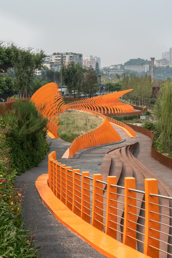 Zigong Dongxingsi Precinct Riverfront Park By Martha Schwartz Partners - Sheet6
