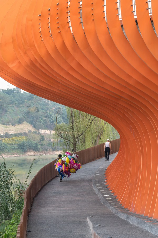 Zigong Dongxingsi Precinct Riverfront Park By Martha Schwartz Partners - Sheet7