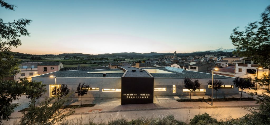 Day center and Home for the elderly of Blancafort By Guillem Carrera - Sheet18