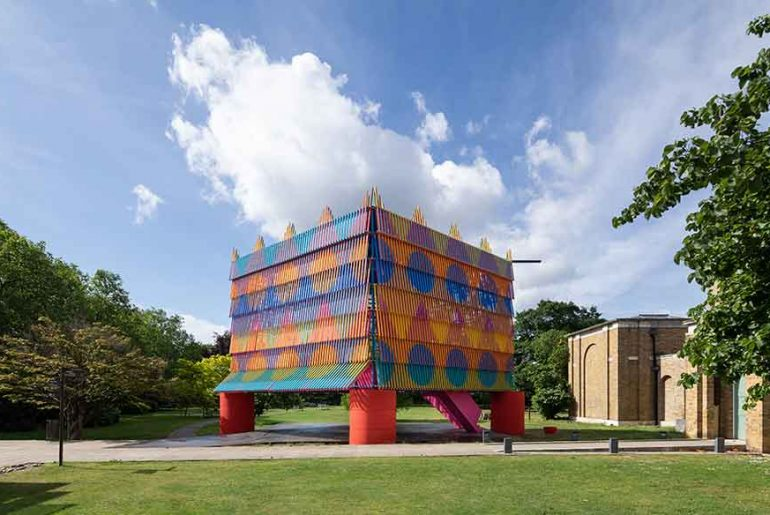 Dulwich Pavilion Repurposed For Local Schools By alma-nac