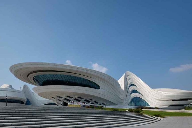 Changsha Meixihu International Cultural Centre By Zaha Hadid Architects
