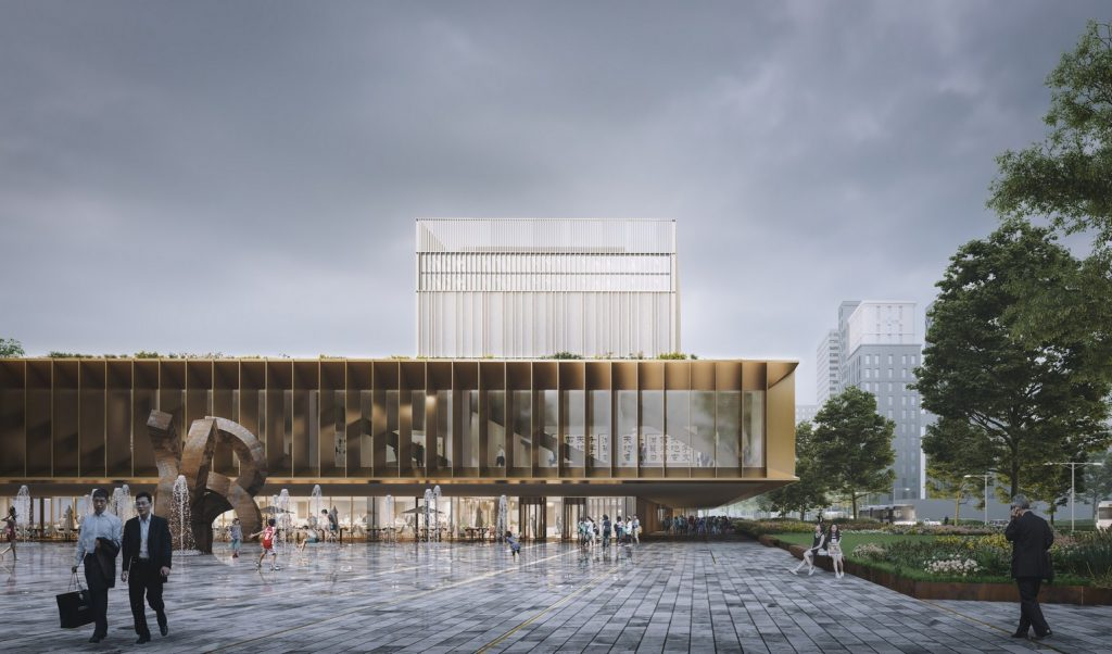 Taiwan National Archive By Mecanoo - Sheet2