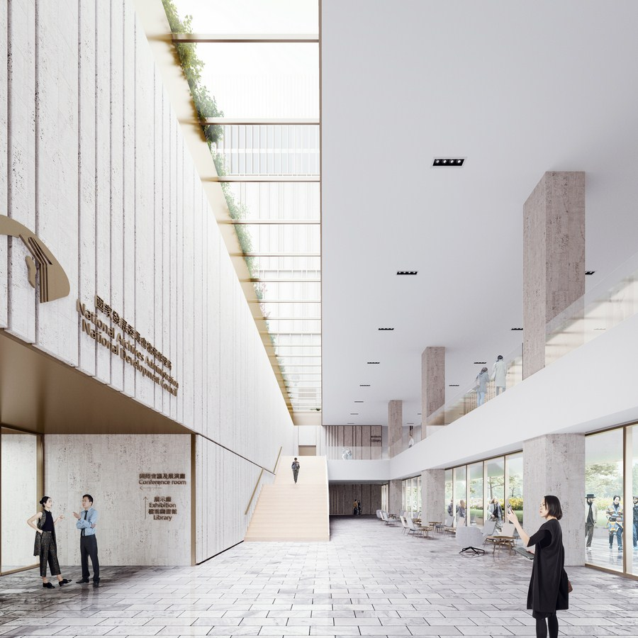 Taiwan National Archive By Mecanoo - Sheet4