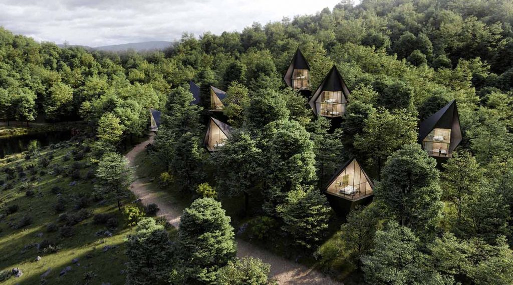 Tree Houses By Peter Pichler Architecture - Sheet4