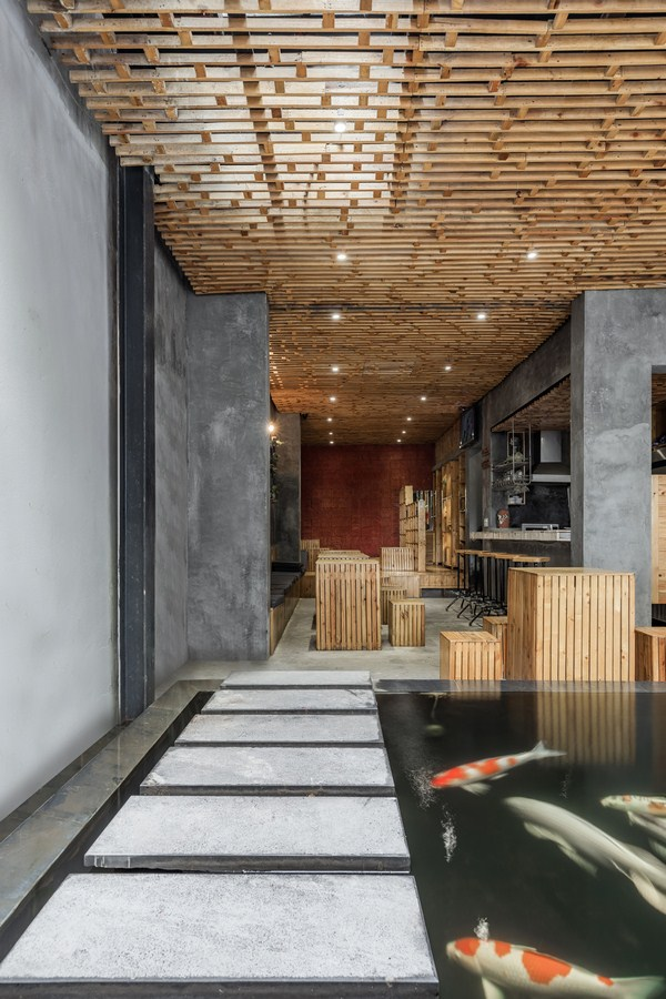 KOI CAFE By Farming Architects - Sheet7