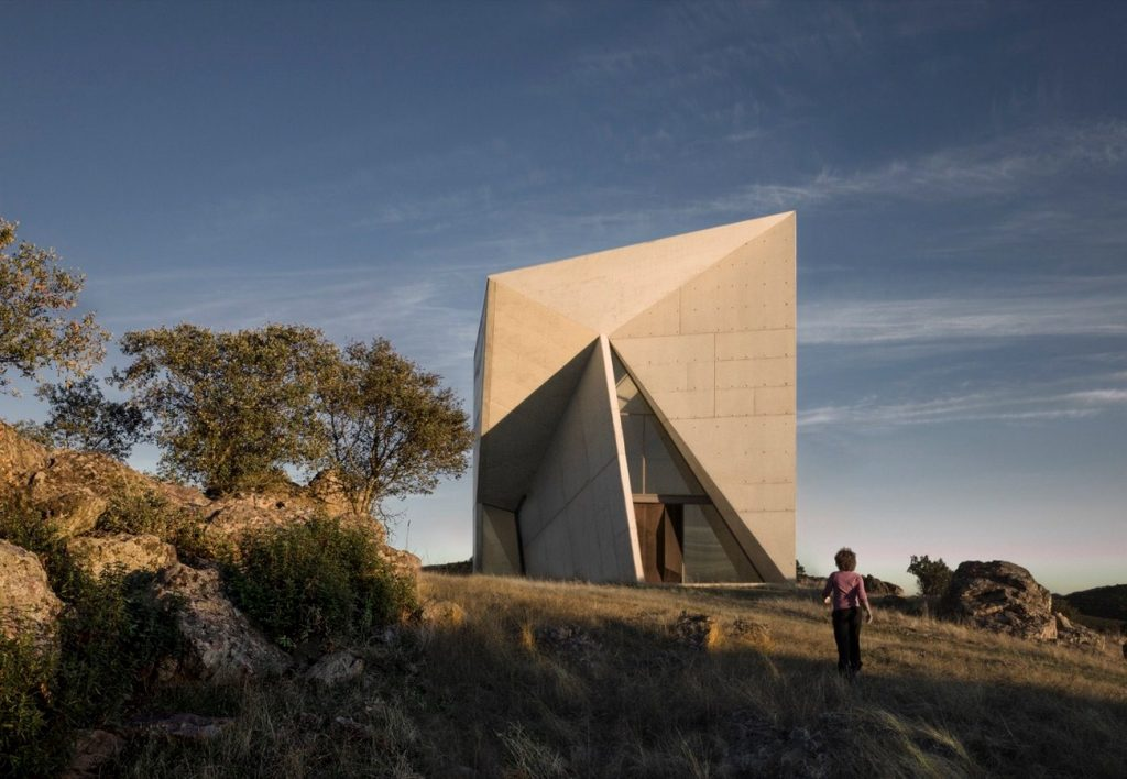 Chapel in Valleaceron By Sancho Madrilejos - Sheet4