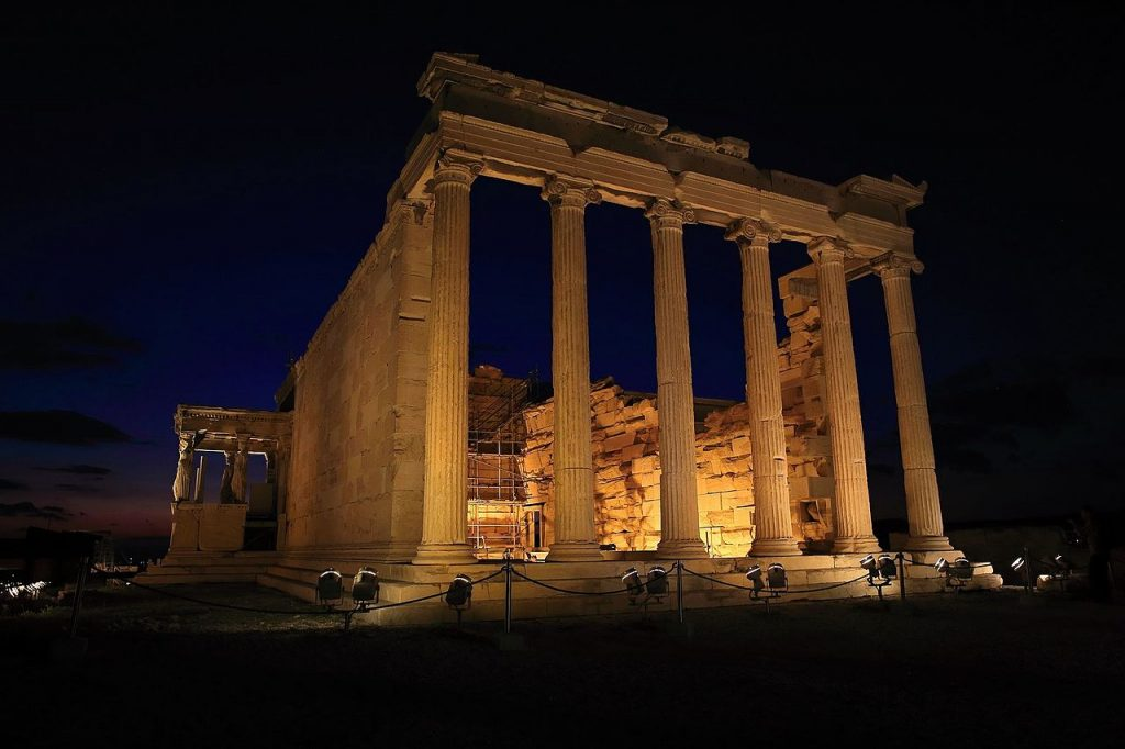 10 Iconic structures of Classical Architecture - sheet 3