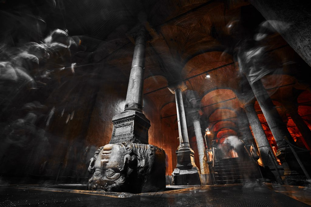 15 PLACES IN INSTANBUL- BASILICA CISTERN - Sheet2